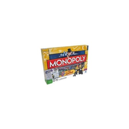 Electronic Monopoly Game - Monopoly-Simpson's Electronic Edition