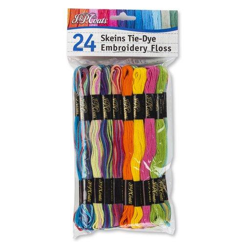 JampP Coats Value Pack Embroidery Floss TieDye  Walmart