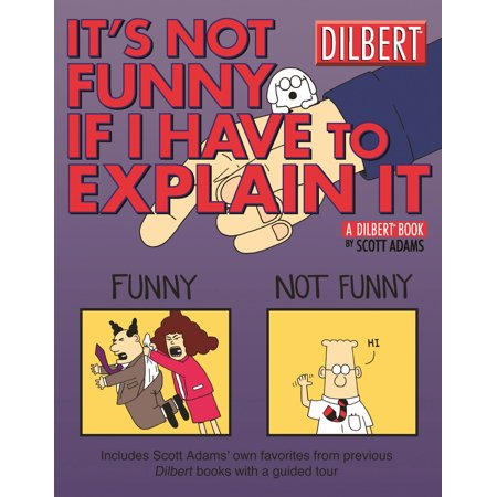 It's Not Funny If I Have to Explain It : A Dilbert Treasury - Dilbert Halloween Comic