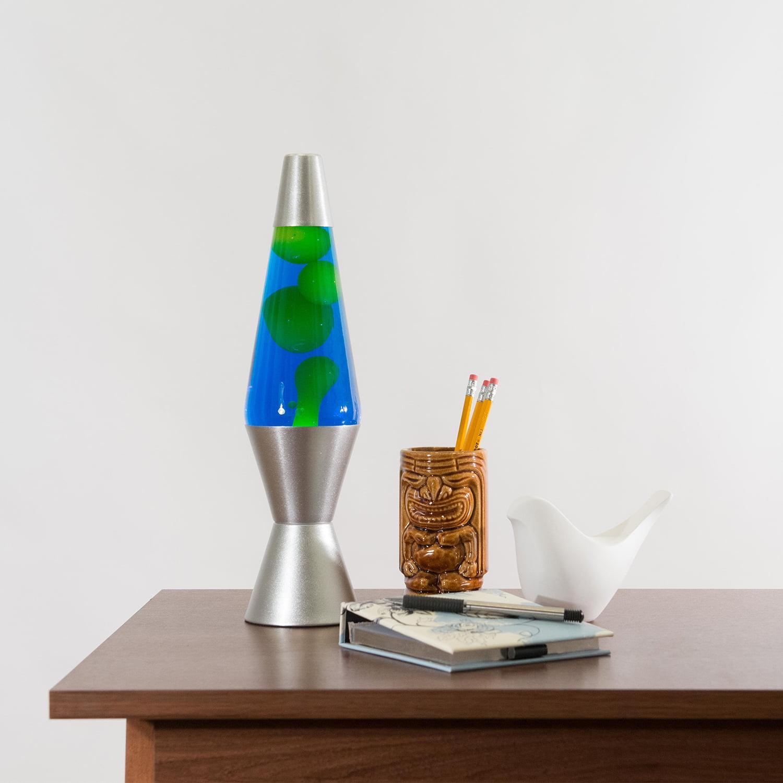 Blue Lava Brand Lava Outdoor 8oz Citronella Lamps Colored Bases