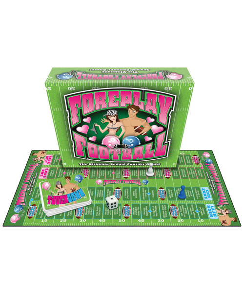 Foreplay Football Board Game by Sextoy