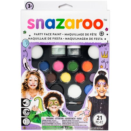 Snazaroo Face Painting Kit-Ultimate - Best Face Painting For Halloween