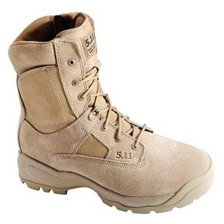 5.11 ATAC Coyote 8 in. Side Zip Boot, Coyote, 8 R