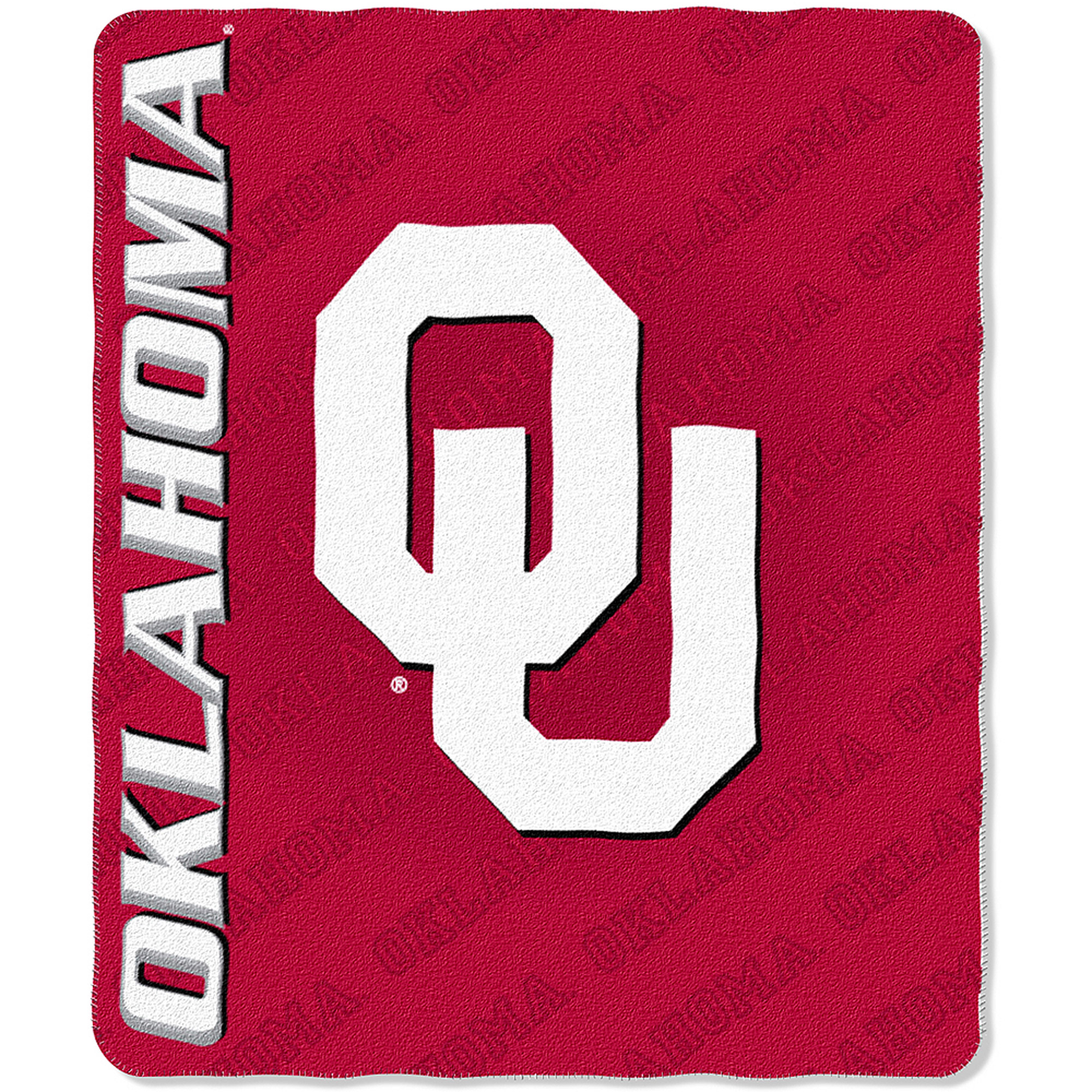 "NCAA Oklahoma Sooners 50"" x 60"" Fleece Throw"