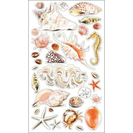 Sticko Stickers-Seashells & Sand - image 1 of 1
