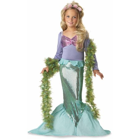 Lil' Mermaid Child Halloween Costume - Halloween Kids Food Ideas