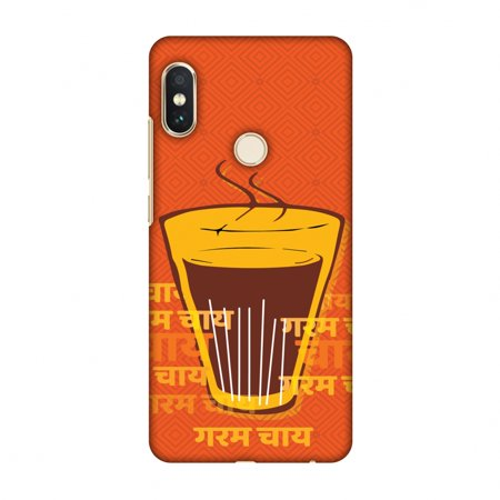 Xiaomi Redmi Note 5 Pro Case - Cutting Chai For The Soul, Hard Plastic Back Cover, Slim Profile Cute Printed Designer Snap on Case with Screen Cleaning (Best Cutting Chai In Mumbai)