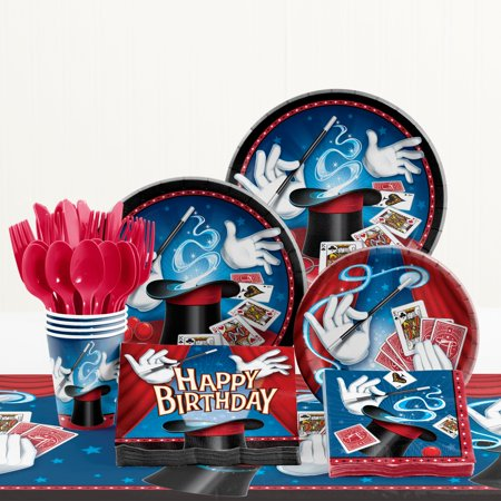 Magic Birthday Party Supplies Kit - Magic Birthday Party