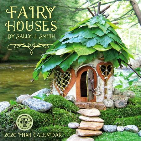 Fairy Houses 2020 Mini Calendar: By Sally J. Smith (Other) ()