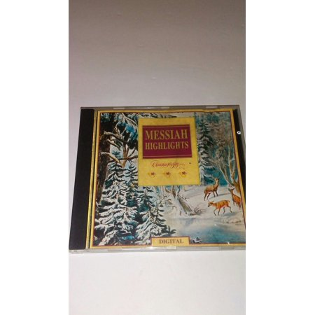 MESSIAH HIGHLIGHTS Classics for Joy | Various Artists | Christmas Music Audio CD ()