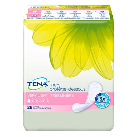 Serenity Driactive Slender Pads - /Serenity Liners, Very Light Absorbency, Pack/26Gender Female By TENA