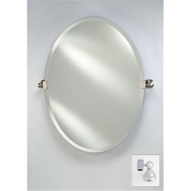 Afina Corporation RM-332-CR-T 24X34 OVAL FRAMELESS WITH T...