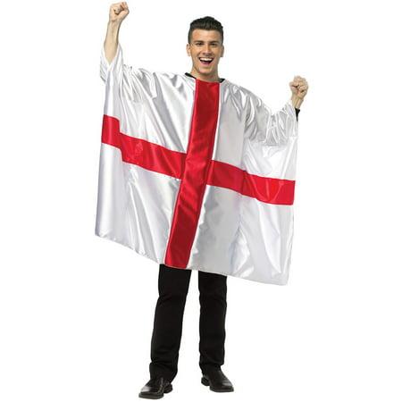 England Flag Tunic Adult Costume