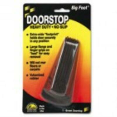 MAS00920 Master Caster Big Foot Doorstop, No Slip Rubber -