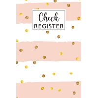 Check Register: Simple Check Register Checkbook Registers Check and Debit Card Register 6 Column Payment Record Personal Checkbook Checking Account Ledger Transaction Ledgers Account Tracker Check Log