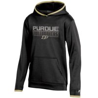 Youth Russell Athletic Black Purdue Boilermakers Pullover Hoodie