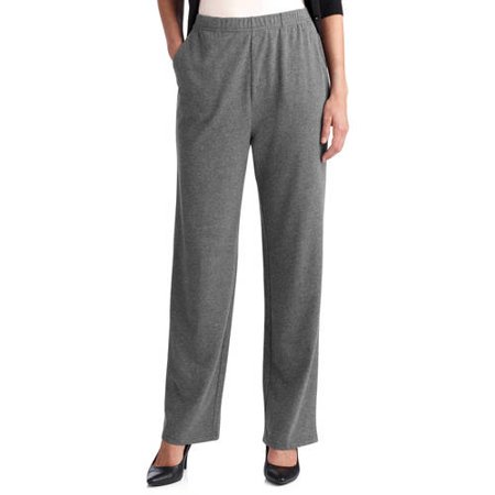 d5251bfb1eed7 White Stag - White Stag Women s Knit Pull-On Pant available in Regular and  Petite - Walmart.com