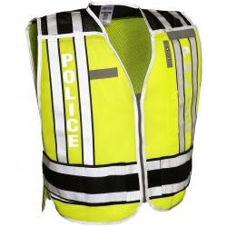 ML Kishigo 4001BZ 400 Series Public Safety Vest POLICE /Black