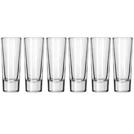 Made In Mexico Mexican Glass Tequila Shots Glasses Set of 6 Industrial Vaso (Best Tequila Sipping Glasses)
