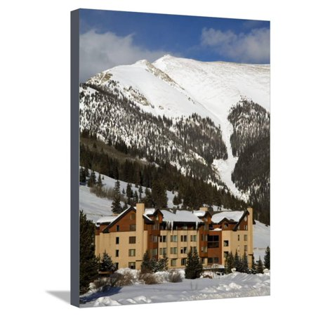 Copper Mountain Ski Resort, Rocky Mountains, Colorado, United States of America, North America Stretched Canvas Print Wall Art By Richard Cummins