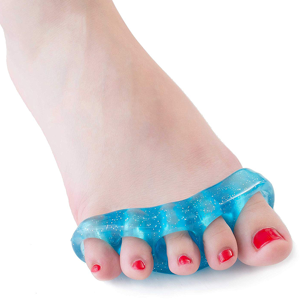 HERCHR Metarsal Gel Toe Separator Rubber, Toe Stretchers