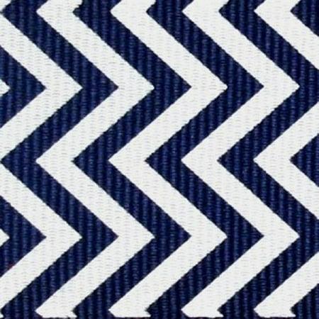 5 Yds Chevron Print Grosgrain Ribbon, 1.5 Inch Light Navy / White + One Yd Custom Print](Custom Ribbons)