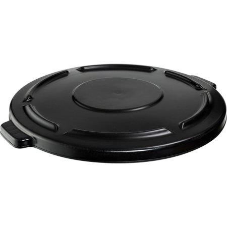 Gallon Brute Round Container Lid - Rubbermaid Brute 44-gallon Container Lid, Black, 1 Each (Quantity)