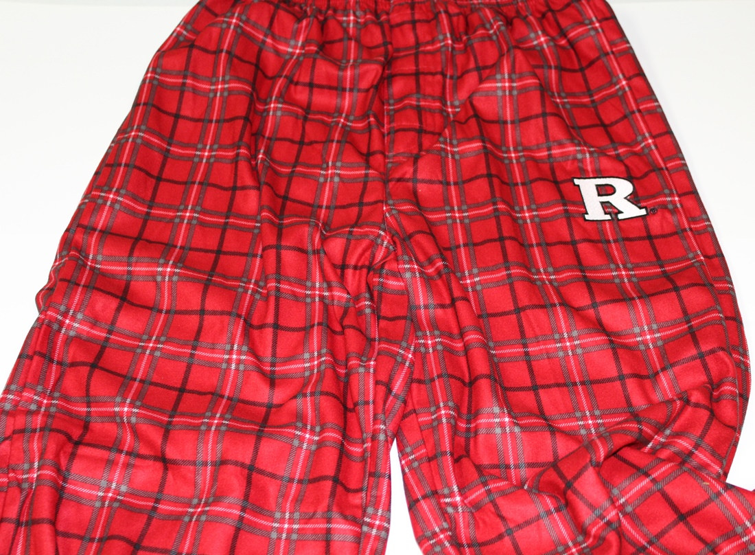 Rutgers Scarlet Knights Youth NCAA Printed Logo Pajama Pants by Outerstuff