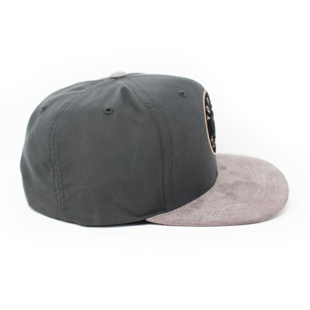 Mitchell and Ness Toronto Raptors Buttery Melange Grey Snapback Hat - image 4 of 5