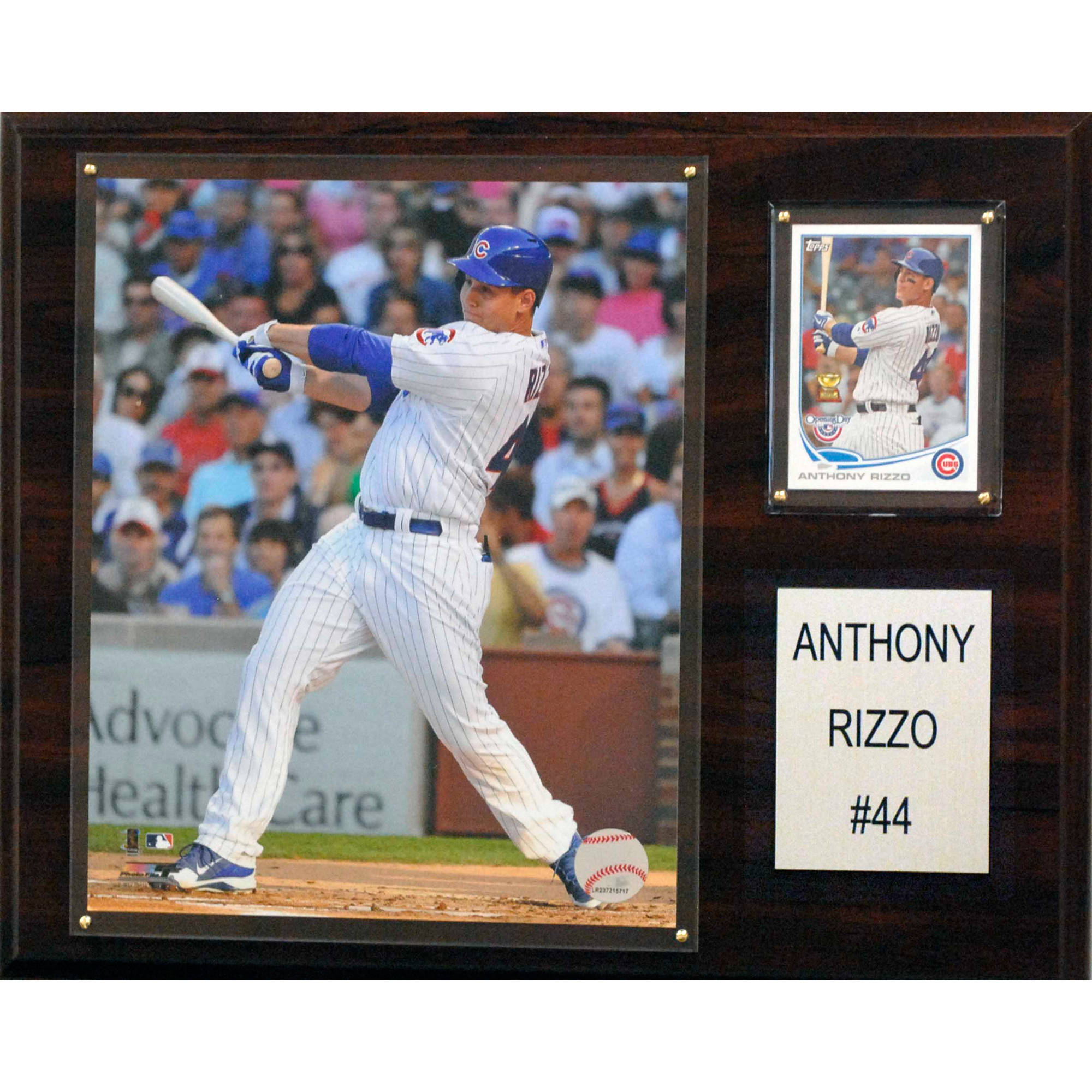 C&I Collectables MLB 12x15 Anthony Rizzo Chicago Cubs Player Plaque