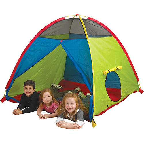 Pacific Play Tents Super Duper 4 Kid Play Tent  sc 1 st  Walmart : bed tents for kids - memphite.com