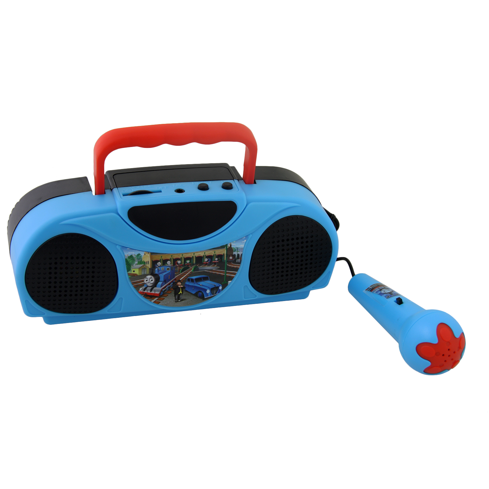 Thomas and Friends Portable Radio Karaoke Kit With Microphone