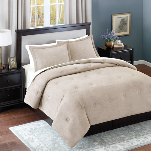 Better Homes and Gardens Microsuede Comforter Mini Set
