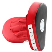 2PCS Boxing Strike Punch Training Mitts Pad Gym Exercise Kicking Accessories