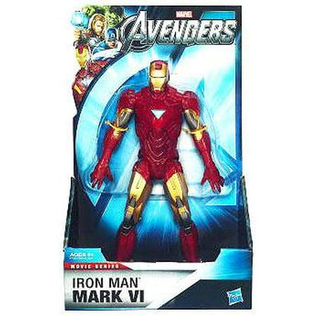 Marvel Movie Series 8 Inch Iron Man Mark VI Action - Mark Vi Iron Man