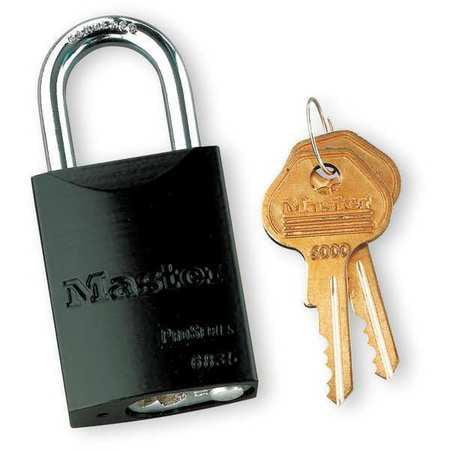 "Lockout Padlock,KD,Black,1-7/8""H MASTER LOCK 6835BLK"