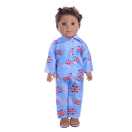 Nightwear Set for 18 Inch Boy Dolls Cute Mini Clothes Accessories - image 8 de 8