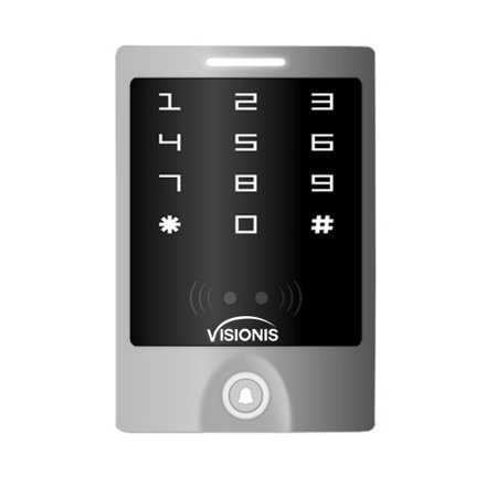 Lighting Control Software (Visionis VIS-3000 Access Control Outdoor Weatherproof Metal Housing Anti Vandal Anti Rust Digital Touch Keypad/Reader Standalone No Software 125khz EM Cards Compatible with Doorbell 3 year Warranty )
