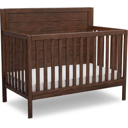 Delta Children Cambridge Mix And Match 4 In 1 Convertible Crib   Rustic Oak by Delta Children