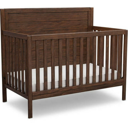 Delta Children Cambridge 4 In 1 Convertible Crib Oak