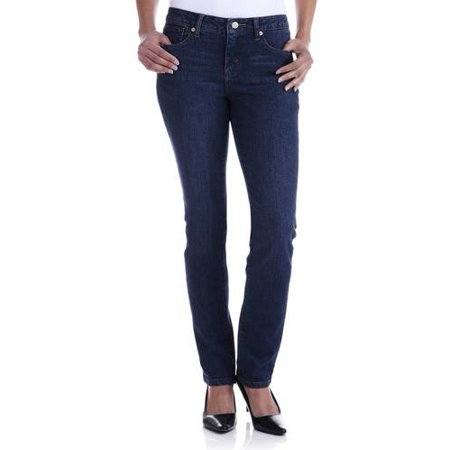 f7ca391ea48 Faded Glory - Faded Glory Women s Straight Leg Jeans Available in Regular