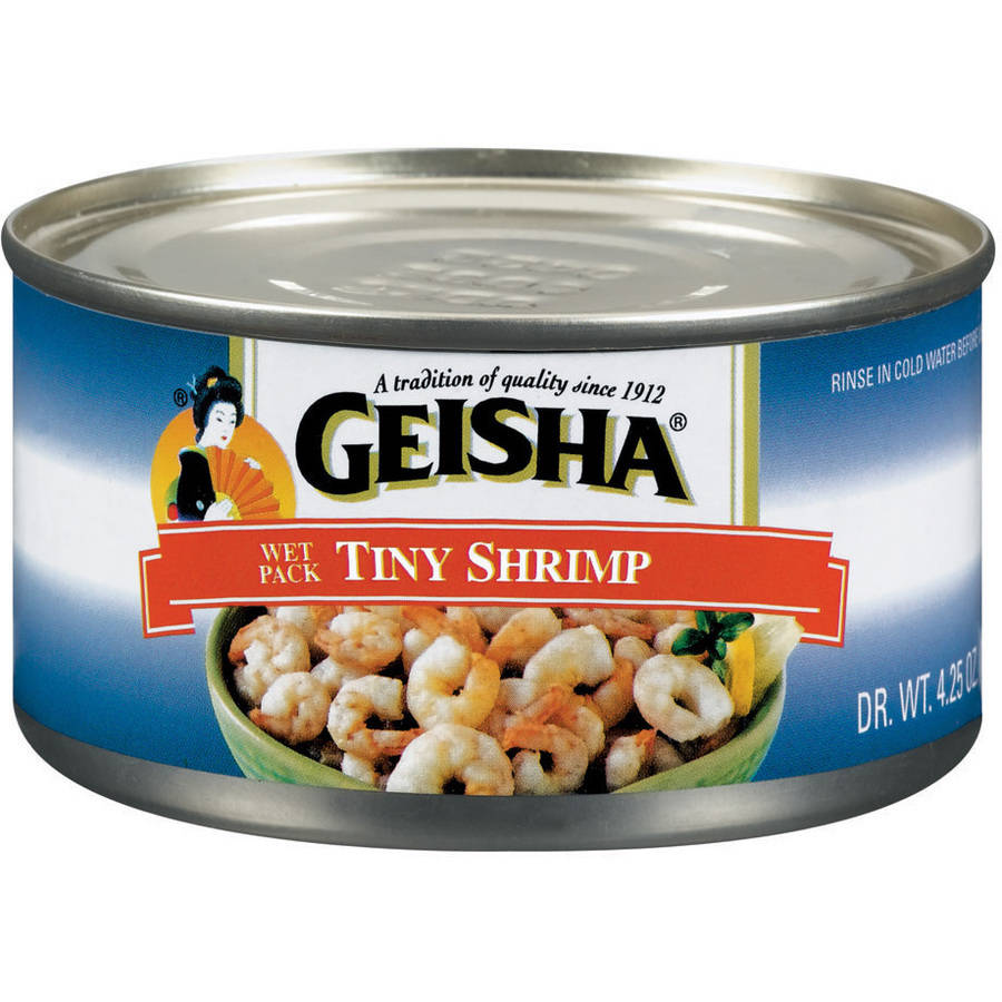 Geisha Tiny Shrimp 4 oz