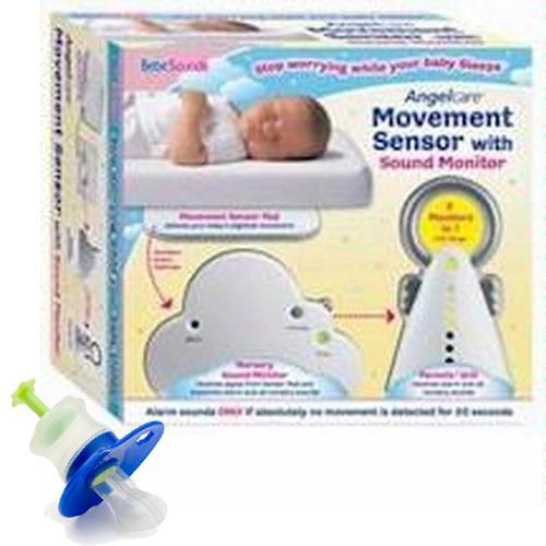 BebeSounds AngelCare AC-201 Kit Baby Movement Sensor and Sound Monitor with Kidz