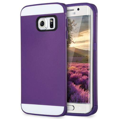 """ULAK Galaxy S6 Edge Case, Slim Protect Hybrid with 2 Layer Cover PC and TPU Layers for Samsung Galaxy S6 Edge (5.1"""" inch) 2015 Release"""