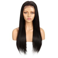 Noble Lace Front Human Hair Wigs Natural Color Brazilian Straight Human Hair Wigs Remy Hair Wigs Free Shipping