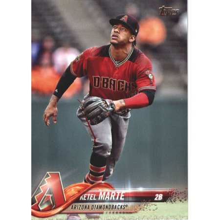2018 Topps Update #US227 Ketel Marte Arizona Diamondbacks Baseball Card