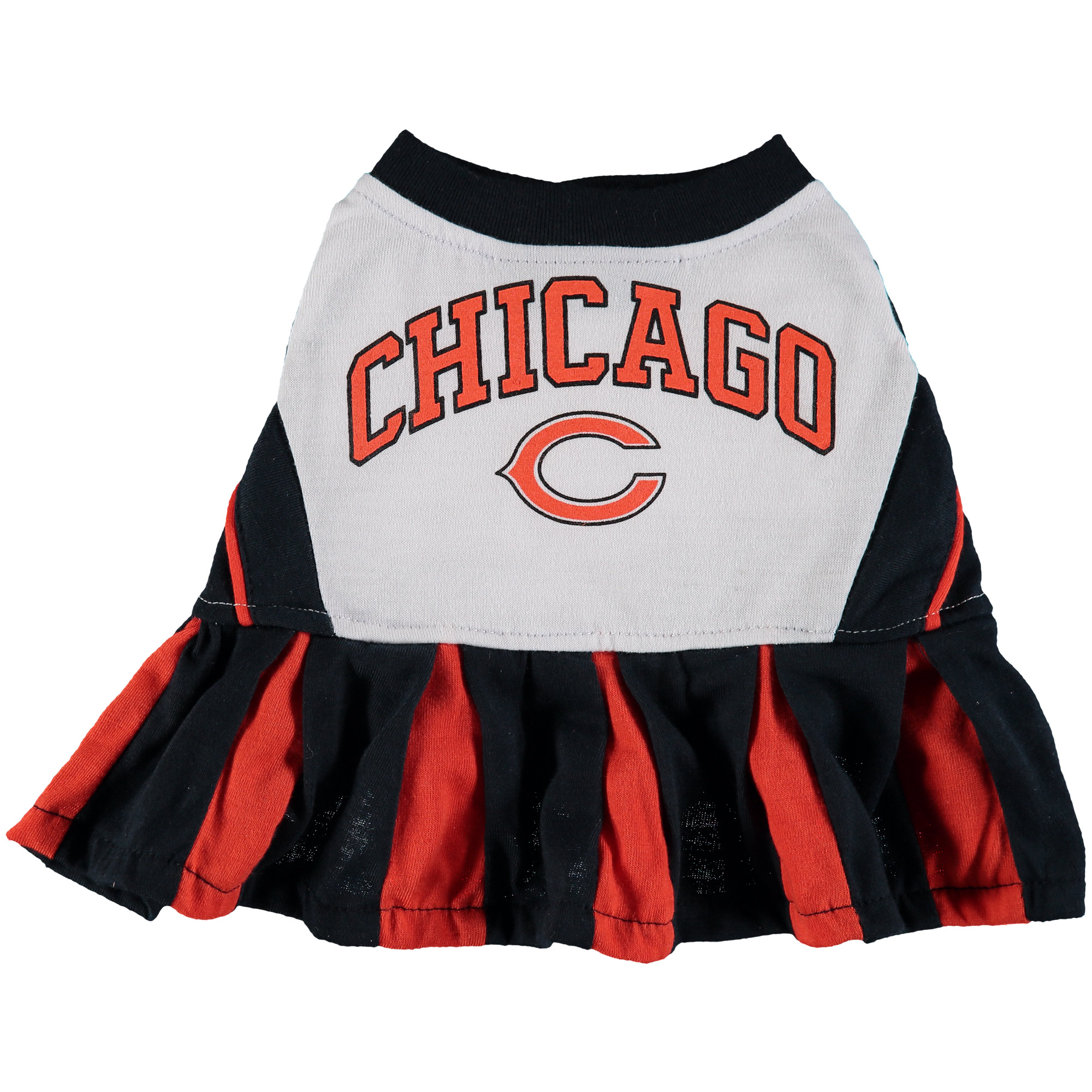 Chicago Bears Cheerleader Pet Outfit