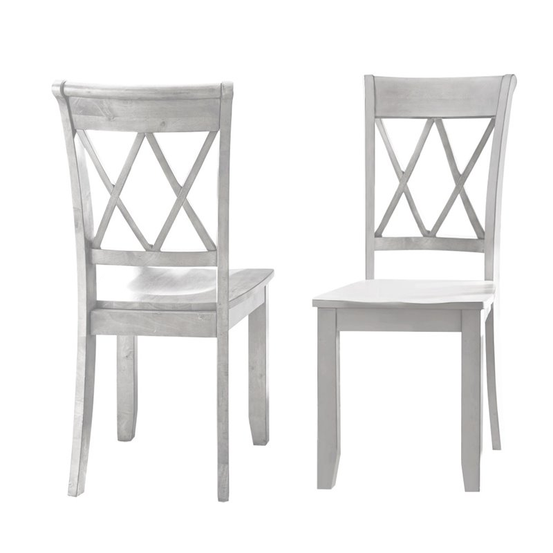 Steve Silver Aida Dining Chair in Vanilla by Steve Silver Company