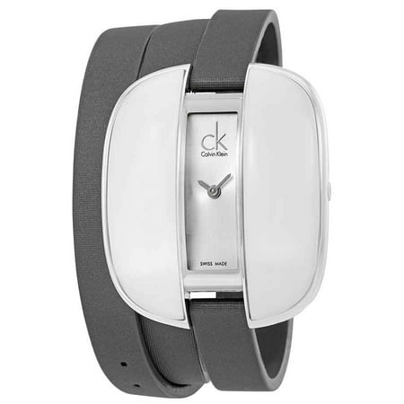 Calvin Klein Treasure Silver Dial Ladies Watch (Calvin Klein Jewelry Grid)