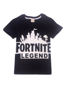 067ab5d63 Product Image 6-13 Years Old Boys Children Fortnite LEGEND Letter Printing  Casual Short Sleeve T Shirts. UKAP
